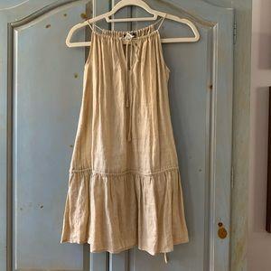 J Crew Linen Mini Dress
